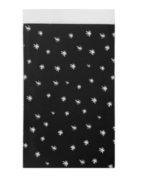 Kadozakje - Starry night zwart - per stuk (17x25cm)