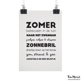 Kaart - Zomer - A6
