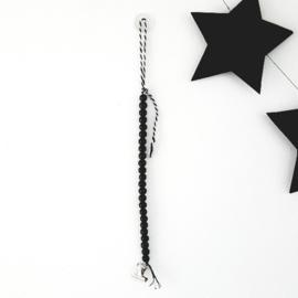 Accessoires - Kralenketting - zwart