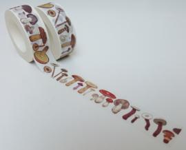 Masking tape - Paddenstoelen