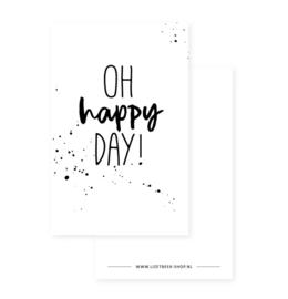 Minikaartje - Oh happy day!