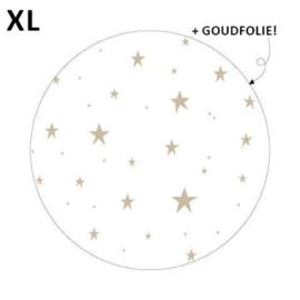 Sticker - Little stars XL - wit - per 5 stuks
