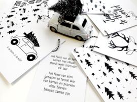Woonslinger - Kerst - 9 kaarten - Zoedt
