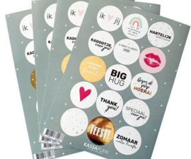 Stickers - Sticker mix - 15 stuks