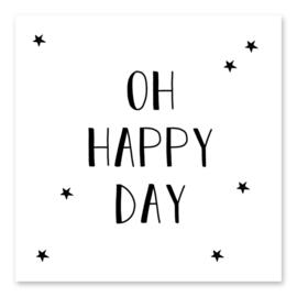 Minikaartje - Oh Happy Day