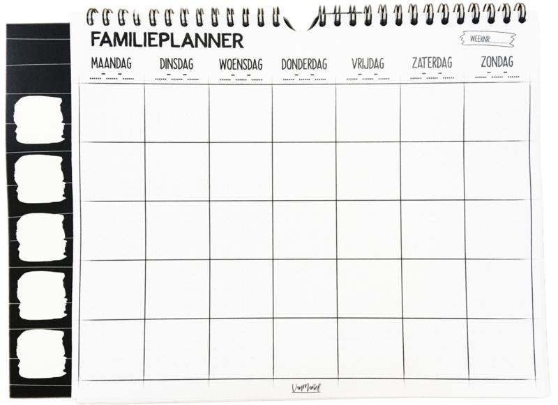 Planner - Familieplanner - 52 vel