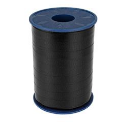 Lint - krullint zwart 10mm - 3m