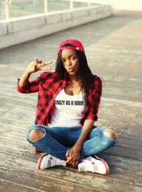 Dutchie T-shirt: Gek als een deur