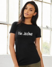 Tshirt Black Ha Jochie