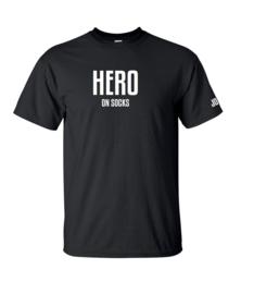 Dutchie T-shirt: Held op sokken