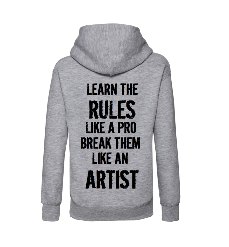 Hoodie Learn the rules