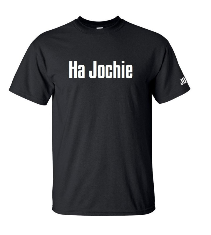 T-shirt Black Ha Jochie