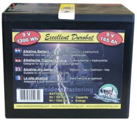 Batterij Durobat 9V/165AH
