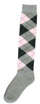 Kniekous RE d.grijs/roze/l.grijs 39-42