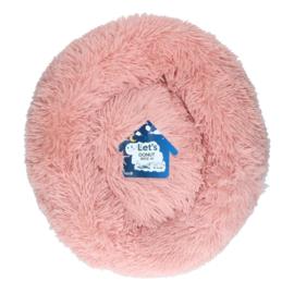 Fluffy Donutmand Beige/Roze