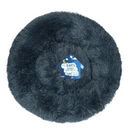 Fluffy Donutmand donker grijs