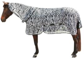 Vliegendeken Zebra incl. nekdeel