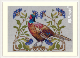 Borduurpakket The Pheasant - Merejka    mer-k149
