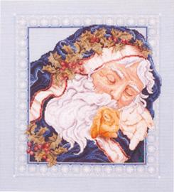 Borduurpakket Sweet Dreams Santa - Janlynn    jan-125-0234