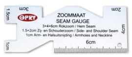 Opry Zoommaat / Zoommaatje van roestvrij staal