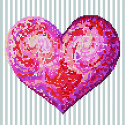 Diamond Dotz Heartfelt - Needleart World    nw-dd05-035