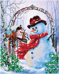 Diamond Dotz Father Snow - Needleart World    nw-dd12-017