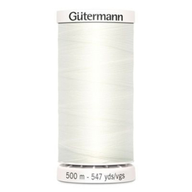 Gütermann /  500 meter / 111 / Off White