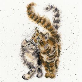 Borduurpakket Hannah Dale - Feline Good - Bothy Threads    bt-xhd60