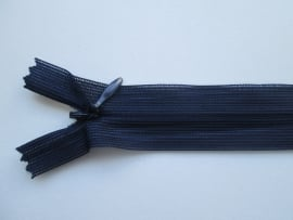 YKK Blinde ritsen 22, 40 en 60 cm.  Marine blauw  / 071