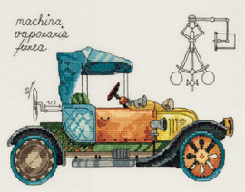 Borduurpakket Clockwork vehicle - PANNA    pan-7061-m