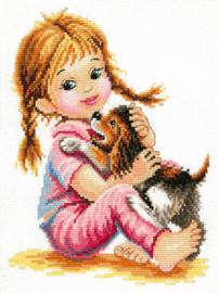 Borduurpakket Hugs - Chudo Igla (Magic Needle)    ci-033-017