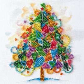 Kralen borduurpakket The Heart of the Holiday - Abris Art    aa-am-205