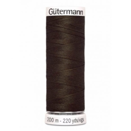 Gutermann alles naaigaren Donker Bruin 021 / 21