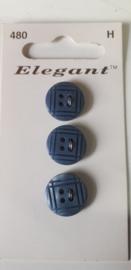 Knopen Elegant blauw (480)