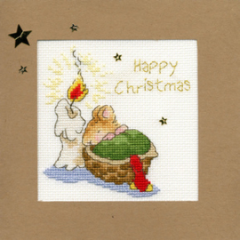 Borduurpakket Christmas Cards - First Christmas - Bothy Threads    bt-xmas19