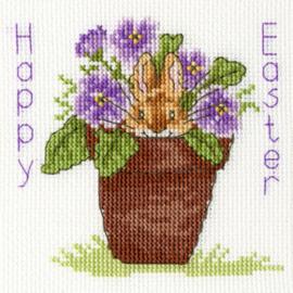 Borduurpakket Margaret Sherry - Easter Bunny - Bothy Threads    bt-xgc19