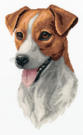 Borduurpakket Jack Russell Terrier - PANNA    pan-7148-j