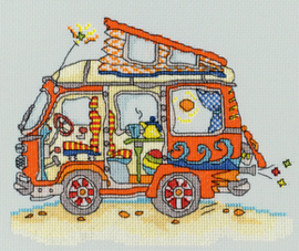 Borduurpakket Sew Dinky - VW Van - Bothy Threads    bt-xsd02