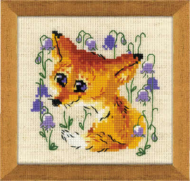 BORDUURPAKKET LITTLE FOX - RIOLIS  ri-1776