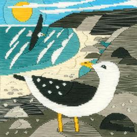Borduurpakket Matt Johnson - Seagulls - Bothy Threads    bt-ssmj01