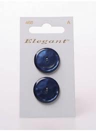 Knopen Elegant - Blauw / 466