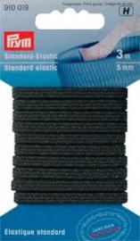 Prym Standaard Elastic  Zwart 5 mm   910 019