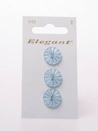 Knopen Elegant - Blauw / 542