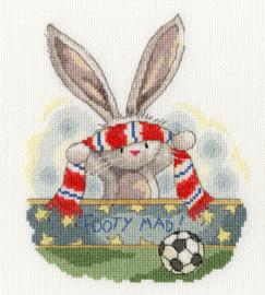 Borduurpakket Bebunni - Footy Mad - Bothy Threads    bt-xbb19