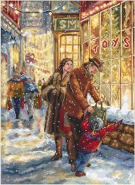 Borduurpakket Christmas Expectation - Leti Stitch    leti-0943