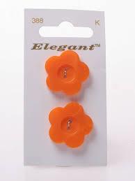Knopen Elegant - Oranje / 388