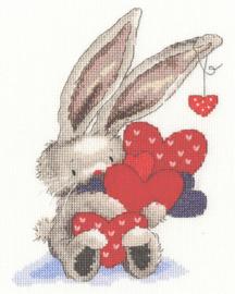 Borduurpakket Bebunni - Whole Lot of Love - Bothy Threads    bt-xbb21