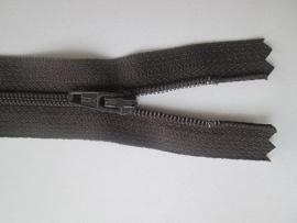 Ykk Nylon ritsen 10 t/m 60 cm Donker bruin (916)