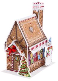 Borduurpakket New Year House - PANNA    pan-1743-ig
