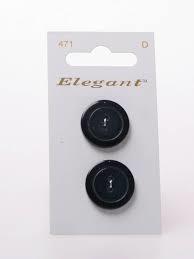 Knopen Elegant - Blauw / 471